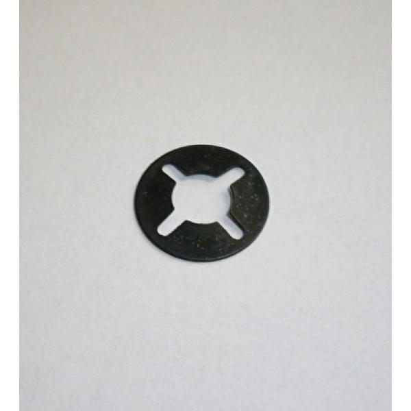 Bevestigingsclip t.b.v. spatplaat achterbumper 1956-1964 6mm